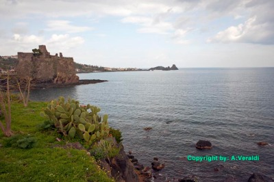 Panorama of Aci-Castello