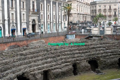 Roman Amphitheatre found in the city