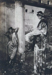 boys in Pompeii