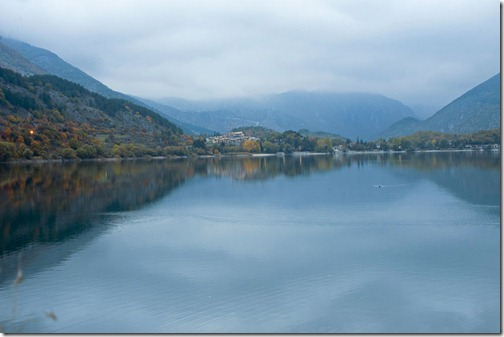 scanno lake