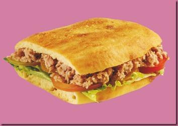 panino with tuna
