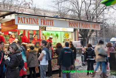 a food stand