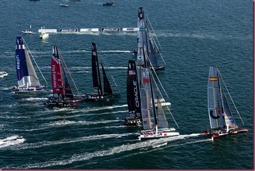 America's Cup World Series - Fleet Race