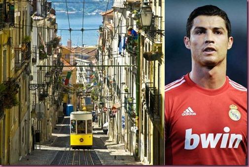 Lisbona and Cristiano Ronaldo