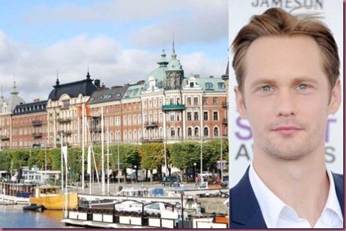 Stoccolma and Alexander Skarsgård