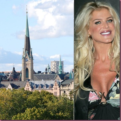 Stockholm and Victoria Silvstedt