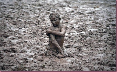 Mud bath in PAKISTAN