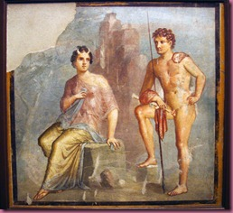 Pompeii, fresco