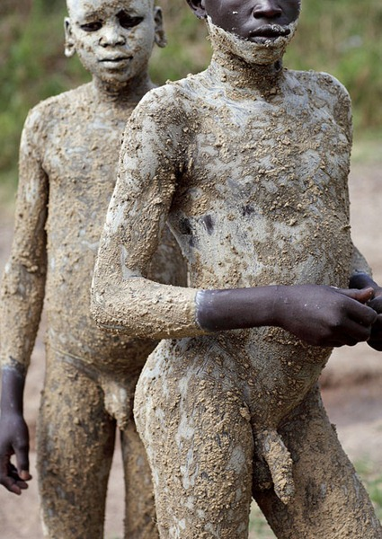 Naked male porters of ethiopia — pic 5