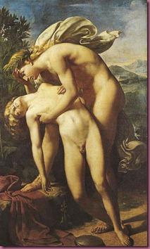 Apollo e Giacinto, dipinto a olio di Méry-Joseph Blondel