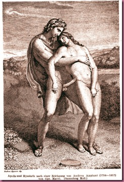 Apollon Embraces Hyacinthos