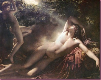 The Sleep of Endymion by Anne-Louis Girodet (1818), Musée du Louvre, Paris.