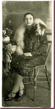 Anni '20. La nonna da giovane