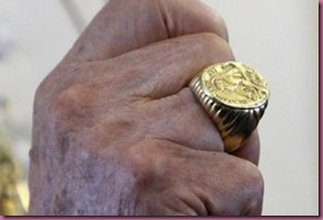Papal Fisherman's Ring