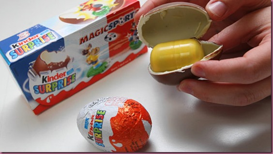 Ferrero Kinder suprise egg