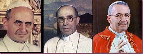 previous Popes
