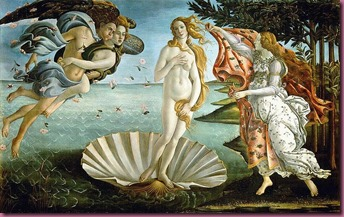 """Birth of Venus"" by Botticelli"
