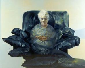 """""""Mia madre"""" tela di R.Vespignani"""
